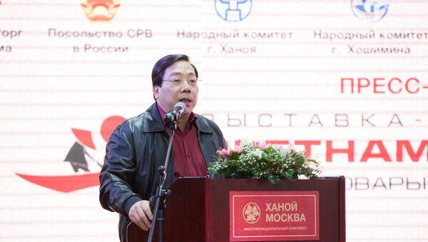 Đại sứ CHXHCN Việt Nam tại LB Nga Nguyễn Thanh Sơn - Sputnik Việt Nam