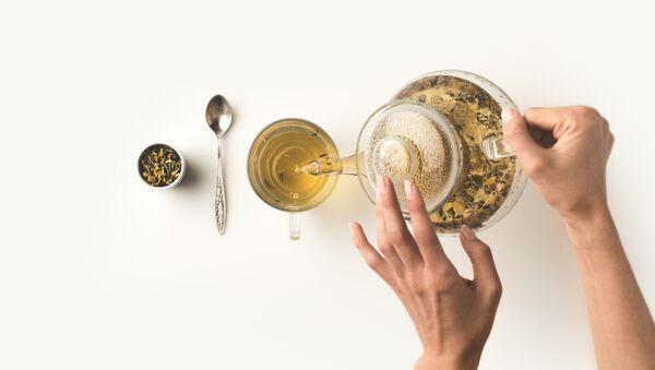 Ấm đun nước trà xanh - Sputnik Việt Nam