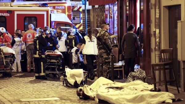 Những cuộc tấn công khủng bố ở Paris - Sputnik Việt Nam