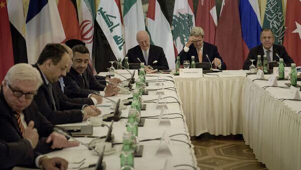 Các thành viên tham gia cuộc đàm phán về Syria tại Vienna - Sputnik Việt Nam