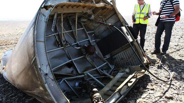 Mảnh xác máy bay Nga Airbus A321 tại Ai Cập - Sputnik Việt Nam