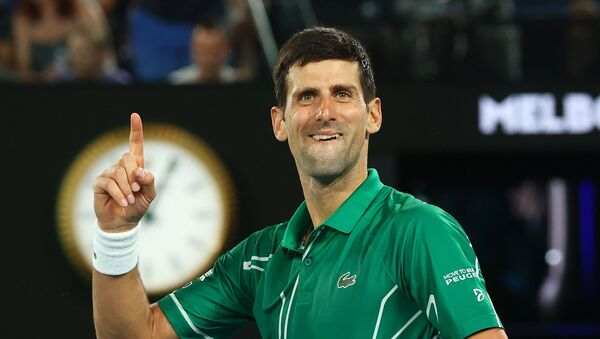 Tay vợt người Serbia Novak Djokovic - Sputnik Việt Nam