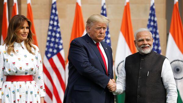 Chuyến thăm của Donald Trump tới Ấn Độ - Sputnik Việt Nam