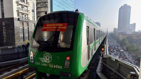 Dự án đường sắt đô thị Hà Nội tuyến Cát Linh – Hà Đông - Sputnik Việt Nam