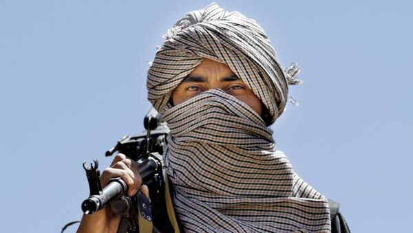 Taliban Afghanistan với vũ khí. Lưu trữ hình ảnh - Sputnik Việt Nam