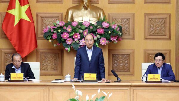 Thủ tướng Nguyễn Xuân Phúc phát biểu ý kiến. - Sputnik Việt Nam