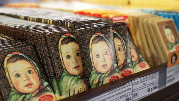 Sản xuất sô cô la tại nhà máy Tháng Mười Đỏ. - Sputnik Việt Nam