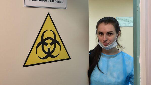 Đơn vị nghi ngờ coronavirus tại bệnh viện Botkin - Sputnik Việt Nam