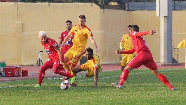 V.League 2020: Chủ nhà Thanh Hóa thất thủ trước Hải Phòng trong trận đầu ra quân - Sputnik Việt Nam