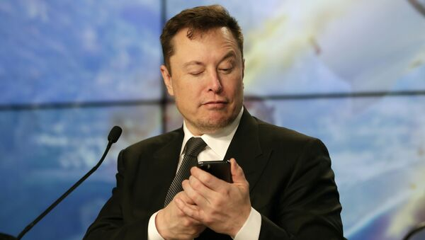 Elon Musk, người sáng lập, CEO và kỹ sư trưởng / nhà thiết kế của SpaceX - Sputnik Việt Nam