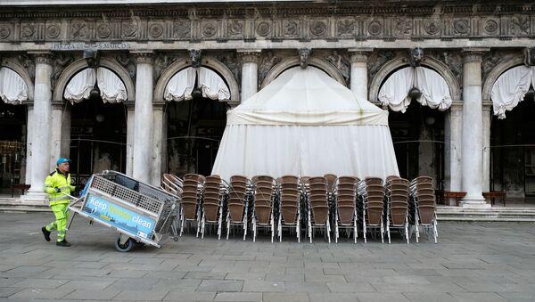 Quảng trường San Marco, Venezia, Ý  - Sputnik Việt Nam