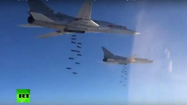 Đòn tấn công của Nga giáng vào ISIL - Sputnik Việt Nam