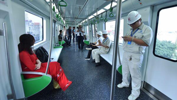 Đường sắt Cát Linh – Hà Đông - Sputnik Việt Nam