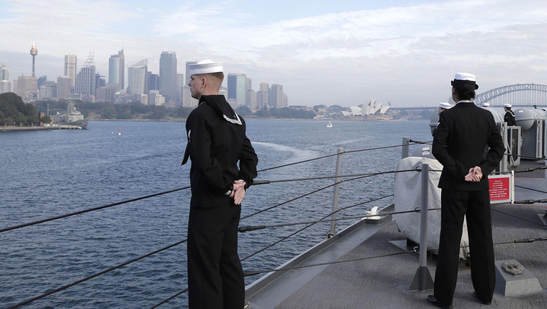 Cuộc tập trận chung hải quân mang tên Talisman Sabre do Australia và Mỹ tổ chức - Sputnik Việt Nam, 1920, 29.06.2021