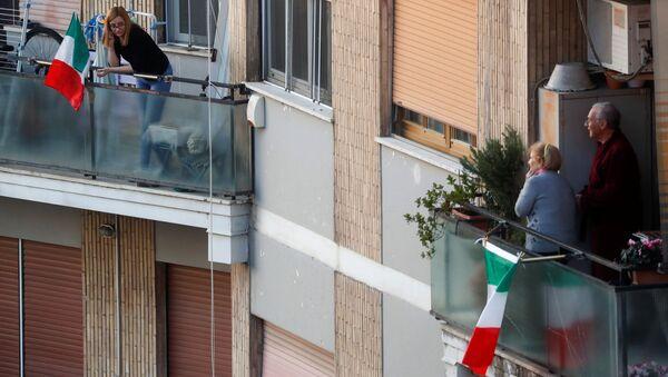 Kiểm dịch tại Rome. - Sputnik Việt Nam