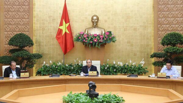 Thủ tướng Nguyễn Xuân Phúc phát biểu. - Sputnik Việt Nam