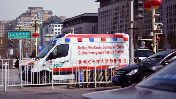 Xe cứu thương của Trung Quốc - Sputnik Việt Nam