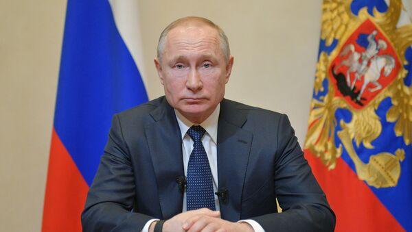 Tổng thống Nga Vladimir Putin giải quyết coronavirus - Sputnik Việt Nam