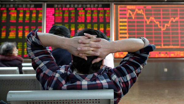 Chủ đầu tư theo dõi cổ phiếu - Sputnik Việt Nam