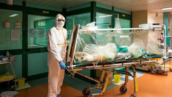 Bác sĩ có bệnh nhân bị coronavirus - Sputnik Việt Nam