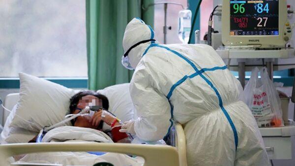 Tại bệnh viện trung ương Vũ Hán - Sputnik Việt Nam