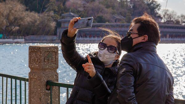 Trung Quốc đeo mặt nạ - Sputnik Việt Nam