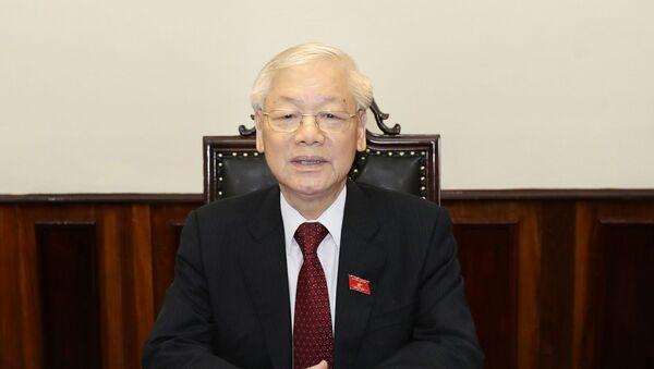 Tổng Bí thư, Chủ tịch nước Nguyễn Phú Trọng - Sputnik Việt Nam