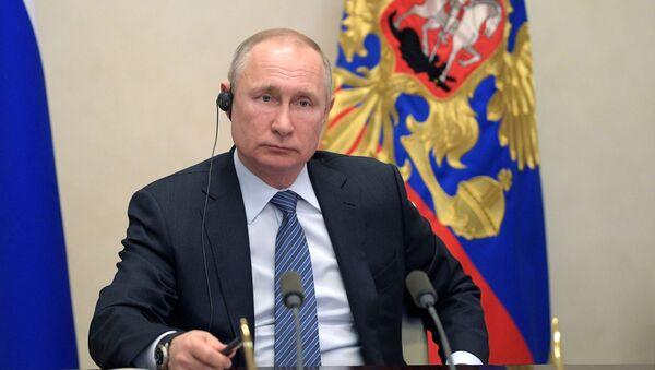 Tổng thống Putin. - Sputnik Việt Nam