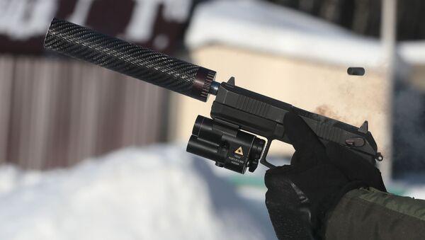 Bộ giảm thanh dạng mô-đun dùng cho súng - Sputnik Việt Nam