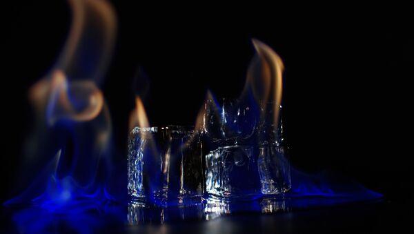 Băng đá dễ cháy (Flammable ice) - Sputnik Việt Nam