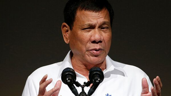 Tổng thống Philippines Rodrigo Duterte - Sputnik Việt Nam