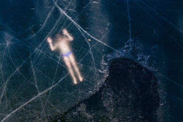 VĐV lặn biển Phần Lan Kristian Maki-Jussila lập kỷ lục thế giới không chính thức - Sputnik Việt Nam