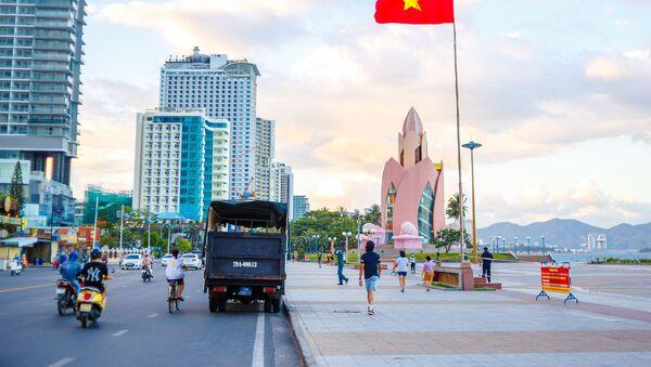 Đường ven biển tại thành phố Nha Trang, Việt Nam - Sputnik Việt Nam