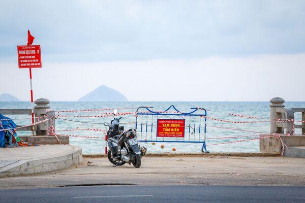 Bãi biển đóng cửa ở Nha Trang, Việt Nam - Sputnik Việt Nam