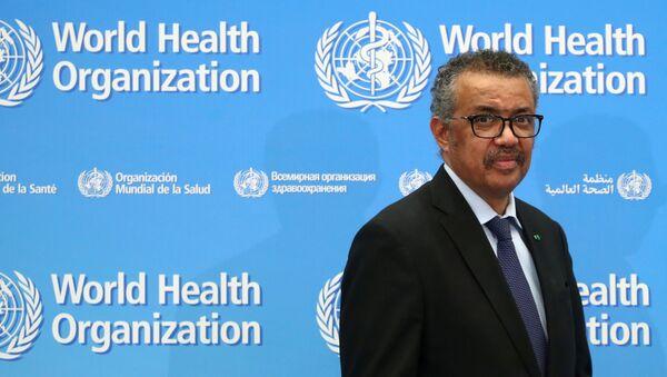 Tổng giám đốc Tổ chức Y tế Thế giới Tedros Adhan Ghebreyesus. - Sputnik Việt Nam