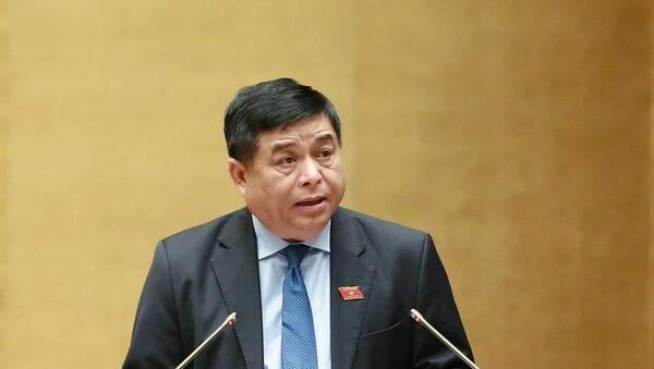 Bộ trưởng KHĐT Nguyễn Chí Dũng. - Sputnik Việt Nam