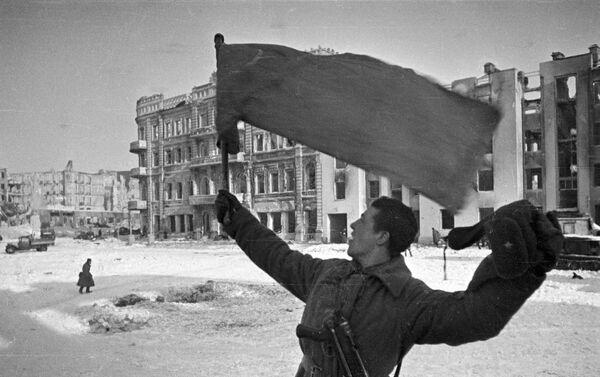 Stalingrad, ngày 31 tháng 1 năm 1943. «Thành phố tự do!» - Sputnik Việt Nam