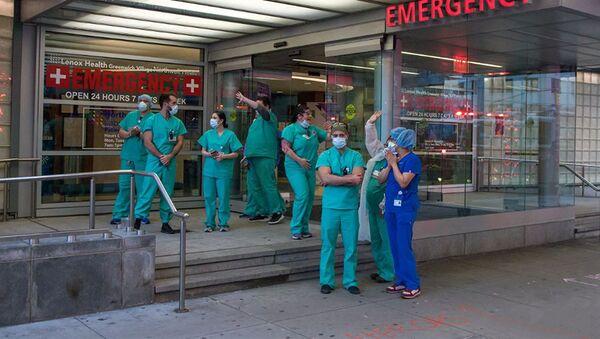 Các bác sĩ ở Manhattan ở New York - Sputnik Việt Nam