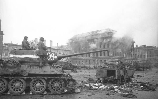 Chiến dịch đánh chiếm Berlin  - Sputnik Việt Nam
