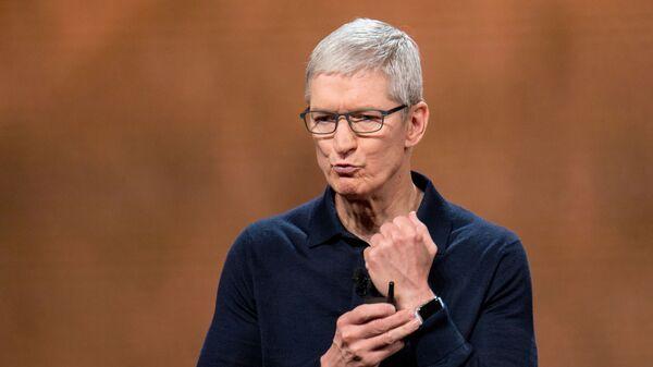 CEO Tim Cook của Apple - Sputnik Việt Nam