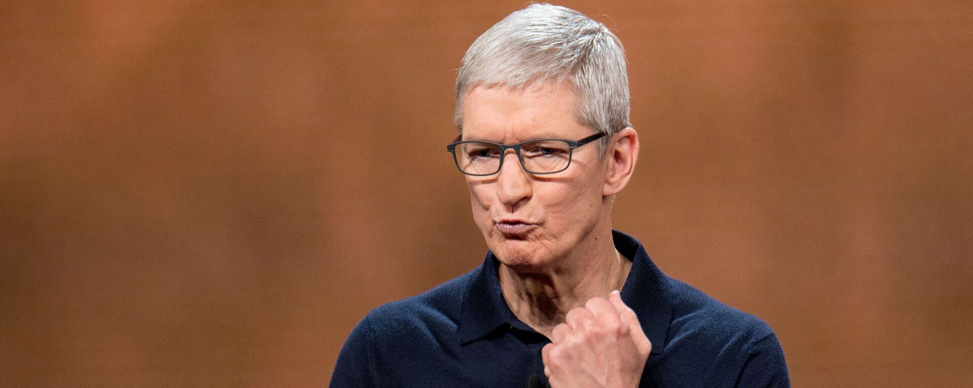 CEO Tim Cook của Apple - Sputnik Việt Nam, 1920, 21.09.2021