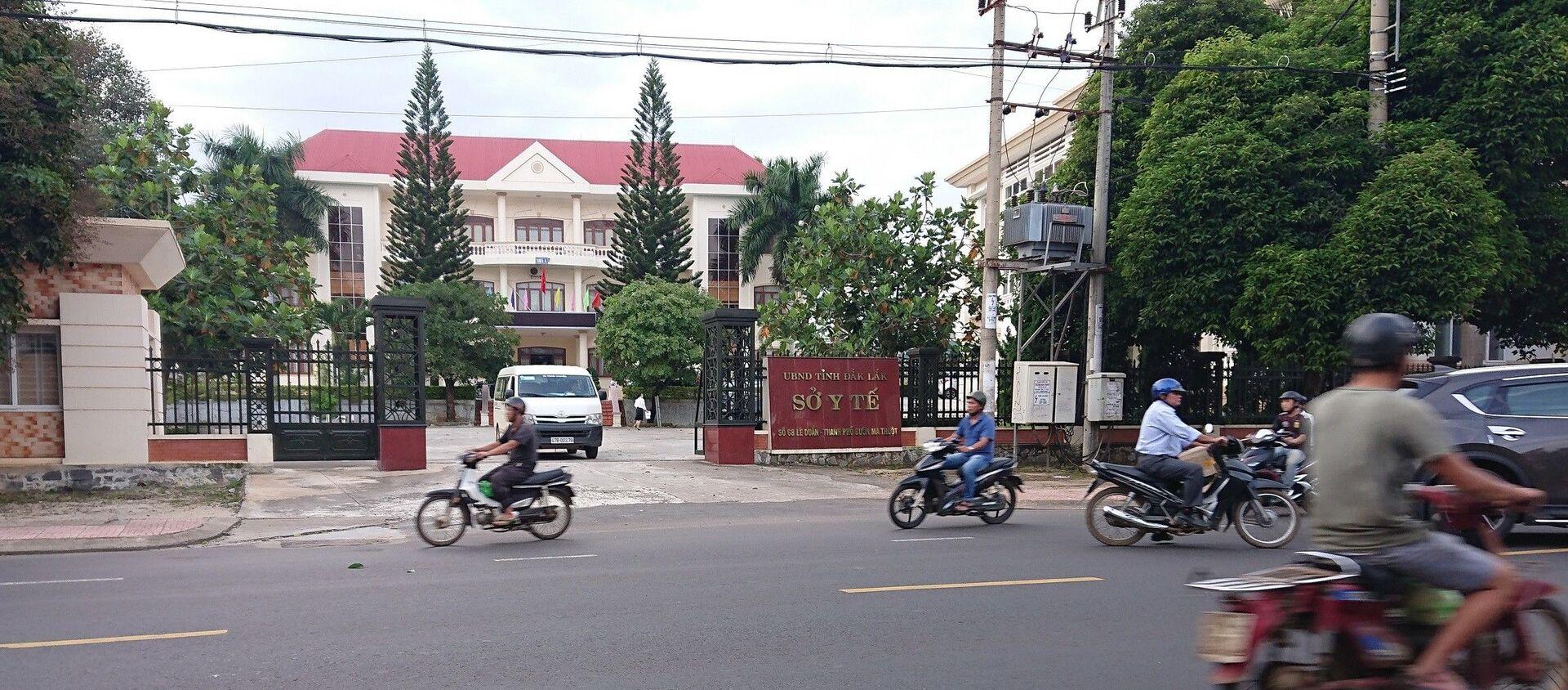 Sở Y tế Đắk Lắk, nơi nhiều cán bộ bị khởi tố - Sputnik Việt Nam, 1920, 28.04.2020