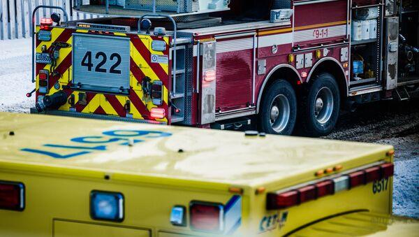 Xe cứu hỏa và xe cứu thương tại Canada - Sputnik Việt Nam