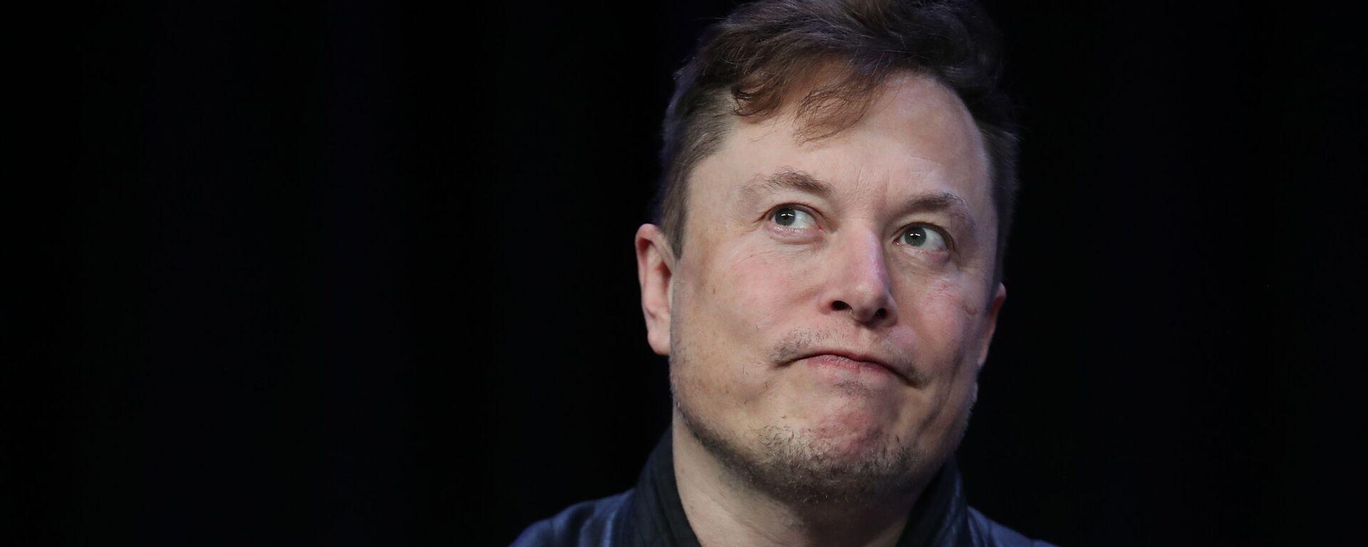 Giám đốc điều hành Tesla Elon Musk - Sputnik Việt Nam, 1920, 28.08.2020