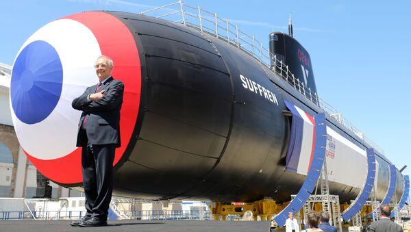 Tàu ngầm hạt nhân Suffren - Sputnik Việt Nam
