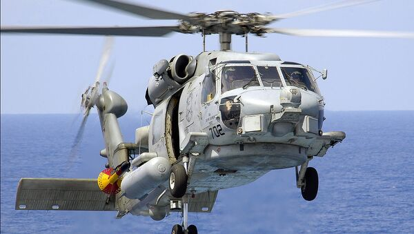 Máy bay trực thăng  Sikorsky SH-60 Seahawk  - Sputnik Việt Nam