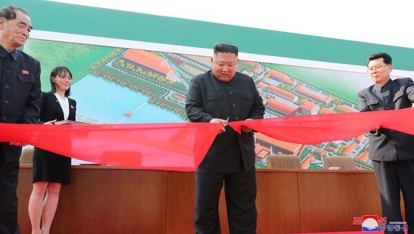 Nhà lãnh đạo Triều Tiên Kim Jong-un - Sputnik Việt Nam