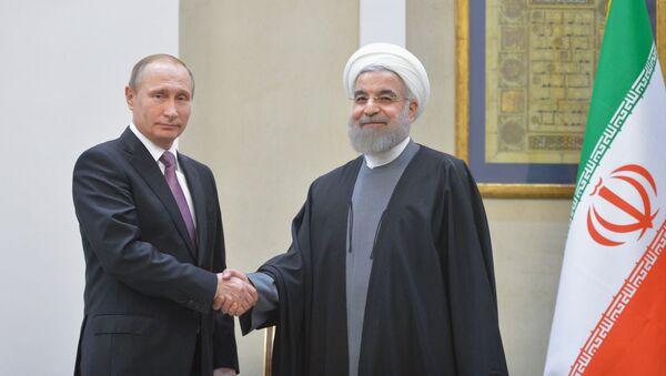 Vladimir Putin và Hassan Rouhani - Sputnik Việt Nam