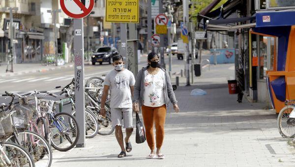 Israel trong bối cảnh đại dịch coronavirus. - Sputnik Việt Nam