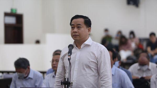 Bị cáo Phan Văn Anh Vũ tại tòa - Sputnik Việt Nam